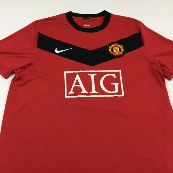 28f609c65 Manchester United Soccer Jersey AIG Football L. M_5bdccf5eaa87703859d7bf28